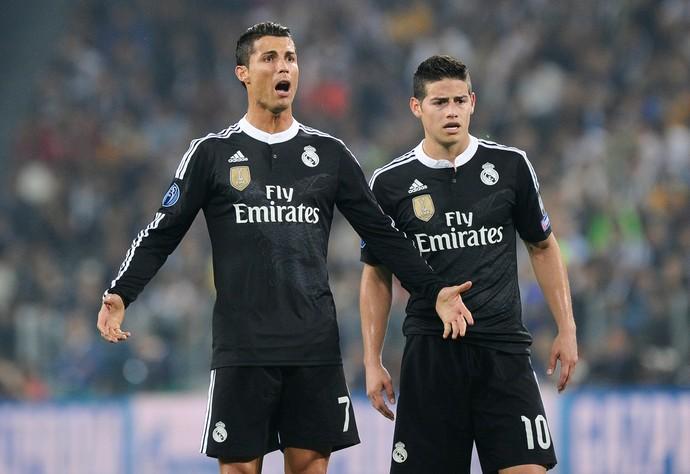 Cristiano Ronaldo James Rodríguez Juventus Real Madrid (Foto: Reuters)