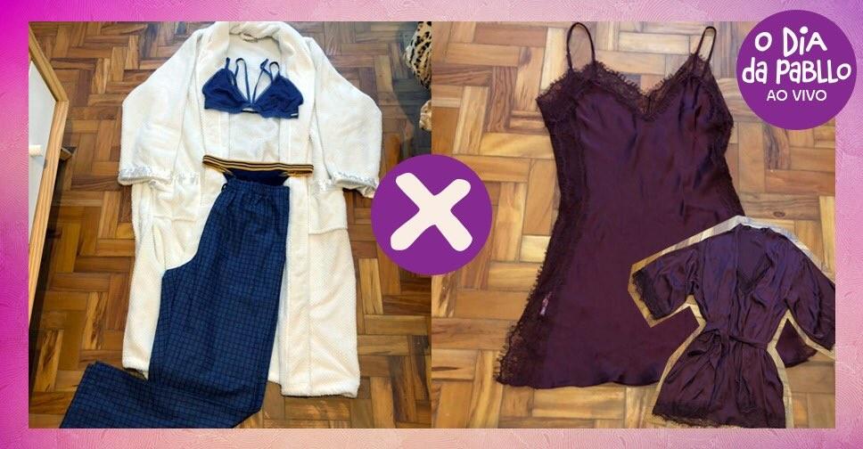 Qual look vocs preferem pra festinha do pijama? T rolando votao no Twitter do Multishow (Foto: Multishow)