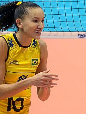 vôlei gabi brasil e japão grand prix (Foto: FIVB)