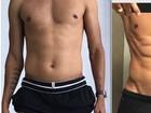 Ex-jogador Rivaldo e a mulher fazem dieta juntos e secam em 30 dias