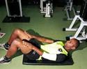Jefferson retira pontos de cirurgia e dá início a treinos físicos no Botafogo