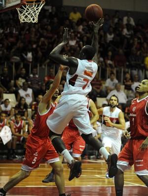 basquete Flamengo x Paulistano (Foto: Alexandre Vidal / Fla imagem)