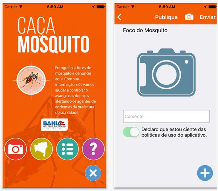 Aplicativo Caça Mosquito (Foto: Divulgação)