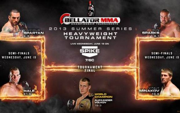 Ex-UFC, Vinicius Spartan disputa GP en busca de cinturn del Bellator