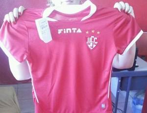 Camisa torcida Uberaba Sport 2014 (Foto: Daniela Amaral/ Arquivo Pessoal)