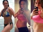 Fernanda Gentil fala de boa forma após parto: 'Já perdi 12 quilos'