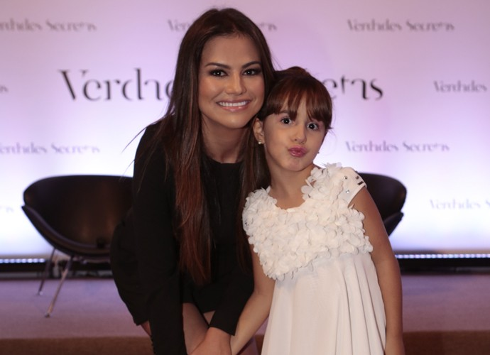 Laryssa Dias vive sua primeira mamãe na TV (Foto: Felipe Monteiro/ Gshow)