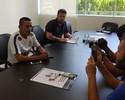 Reforços, Luidy e Paulo Roberto assinam contrato com o Corinthians