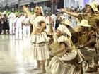 Musas e famosas brilham no desfile da Grande Rio na Marquês de Sapucaí