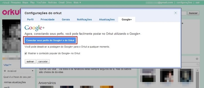 Como conectar seu perfil do Orkut ao Google+; veja os ...