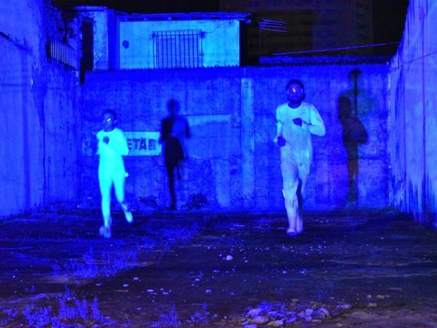 Performance O Rio Submerso (Foto: Divulgação)