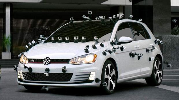 Volkswagen Golf GTI GoPro (Foto: Divulgação)