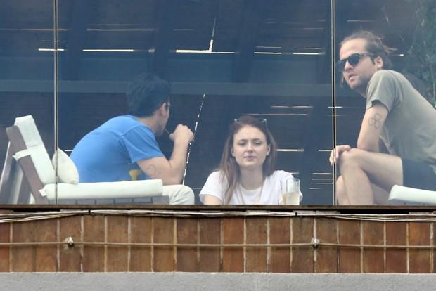 Joe Jones e Sophie Turner  (Foto: AgNews)