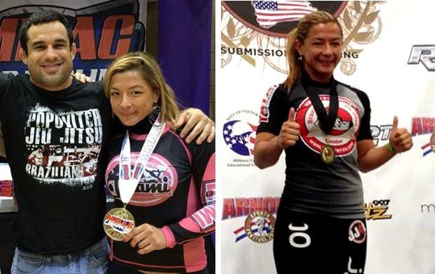 MMA thaysa esposa thiago silva ao lado de Pablo popovitch  (Foto: Reprodução / Facebook)