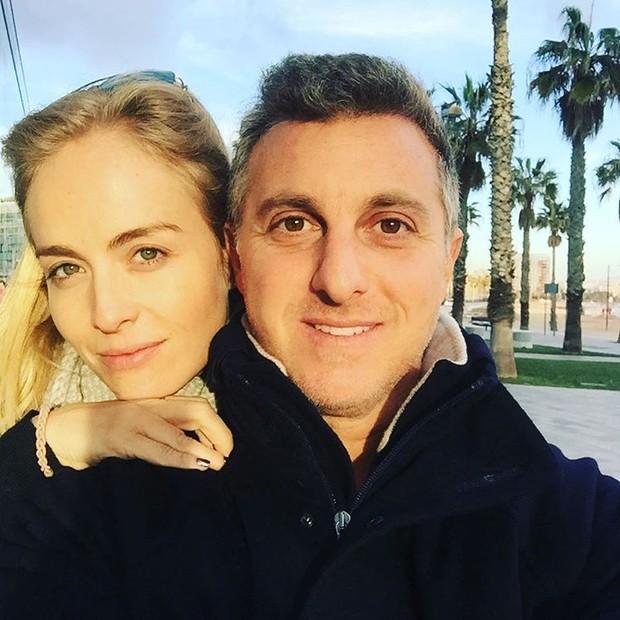 Angélica e Luciano Huck (Foto: Reprodução/Instagram)