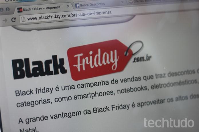 Lojas e fabricantes preparam descontos e boa estrutura para a Black Friday (Foto: Isabela Giantomaso/TechTudo)
