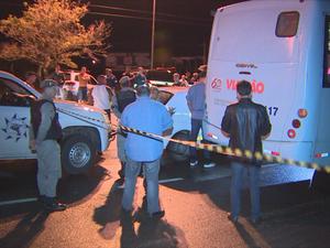Polícial morto RS ônibus Itupuã Rio Grande do Sul morte (Foto: Reprodução/RBS TV)