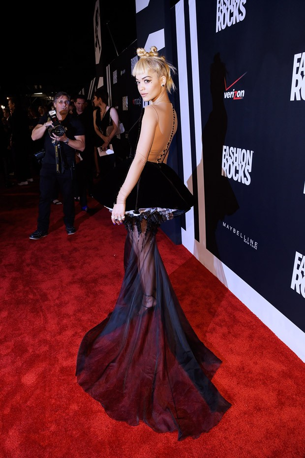 Rita Ora no Fashion Rocks 2014 (Foto: Getty Images)