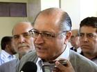 Geraldo Alckmin agenda visita a 6 cidades do Oeste Paulista no sábado