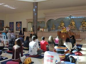 Evento budista acontece neste domingo (1º) no Taquaral em Campinas (Foto: Divulgação)