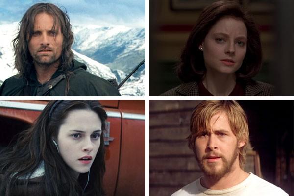 Viggo Mortensen, Jodie Foster, Kirsten Stewart e Ryan Gosling já aceitaram papéis antes recusados por diversos atores (Foto: Reprodução)