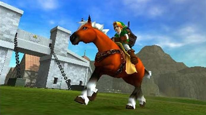 The Legend of Zelda: Ocarina of Time trouxe uma das montarias mais marcantes dos games, Epona (Foto: Divulgação)