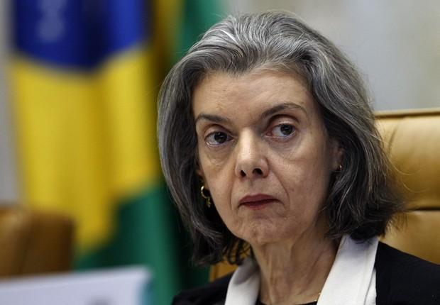 Carmen Lúcia, ministra do Supremo Tribunal Federal (Foto: Agência Brasil/Arquivo)