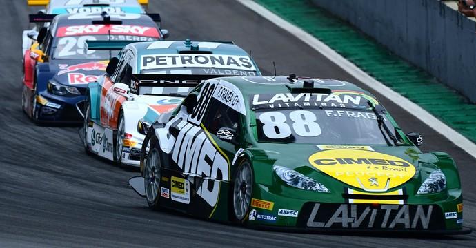 Felipe Fraga chegou em 10º em Interlagos e garantiu o título da Stock Car 2016 (Foto: Fernanda Freixosa)