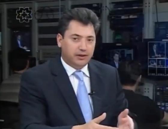 O deputado federal Sérgio Souza (PMDB/PR) (Foto: Reprodução/ Youtube)