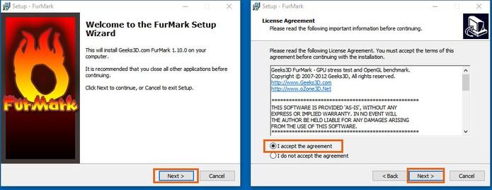 Inicie a instalação do programa FurMark no computador (Foto: Reprodução/Barbara Mannara)