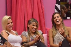 Finalistas do BBB 14 - Clara, Vanessa e Angela (Foto: Globo / Frederico Rozario)