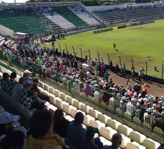 Rio Preto x São Carlos, série A3, Anísio Haddad (Foto: Graciela Andrade / TV TEM)