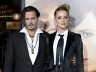 Amber Heard entra com pedido de divórcio de Johnny Depp, diz site
