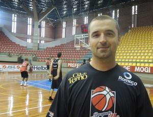 Fábio Supervisor técnico do Joinville (Foto: Thiago Fidelix / Globoesporte.com)