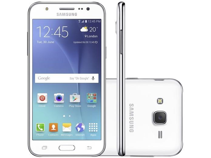 Galaxy J5 tem o mesmo design de anos atrás usado pela Samsung (Foto: Divulgação/Samsung) (Foto: Galaxy J5 tem o mesmo design de anos atrás usado pela Samsung (Foto: Divulgação/Samsung))