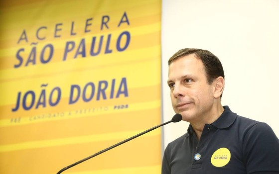 O candidato a prefeito de São Paulo João Doria (Foto: Divulgação)