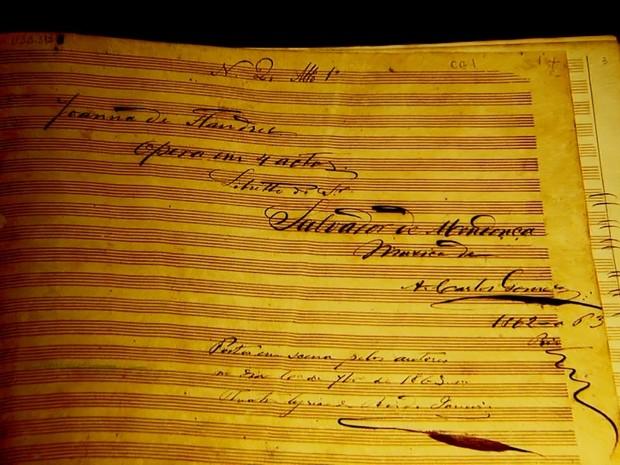 2ª ópera de Carlos Gomes no Brasil: Joana de Flandres  (Foto: Reprodução/ EPTV)