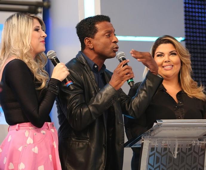 Dani Calabresa, Luís Miranda, Fabiana Karla fazem parte do Time do Zorra (Foto: Carol Caminha/Gshow)