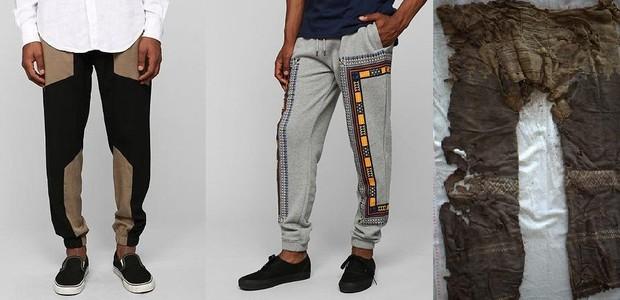 Hipster, hipster, antiga - a calça chinesa não faria feio nas ruas de hoje em dia. Dá pra sentir a influência perene que deixou (Foto: Reprodução)