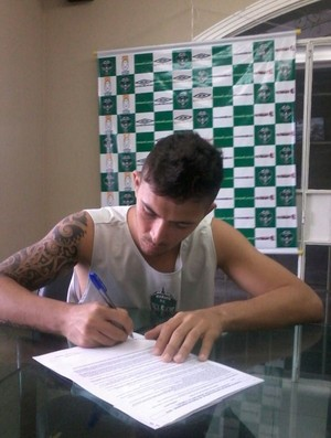 Cristiano Manaus FC (Foto: Thiago Fernando/Agência Manaus F.C)