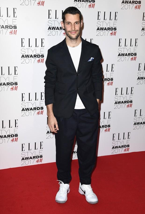 Simon Porte Jacquemus no Elle Fashion Awards 2017, em fevereiro  (Foto: Getty Images)