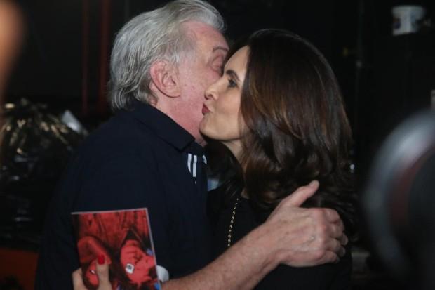 Marco Nanini e Fátima Bernardes (Foto: Daniel Pinheiro/AgNews)