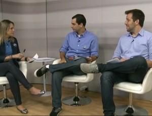 Christiane Mussi e Daniel Cardoso receberão Rafael Honório, que falou do Japão (Foto: globoesporte.com)