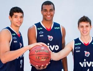 leo lucas caue  franca nbb basquete (Foto: João Pires/LNB)