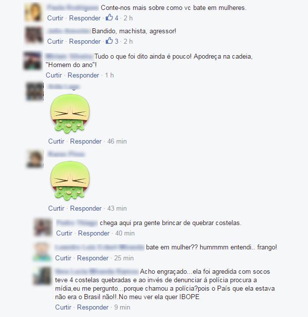 Postagens no Facebook de Lirio Parisotto (Foto: Reprodução/Facebook)