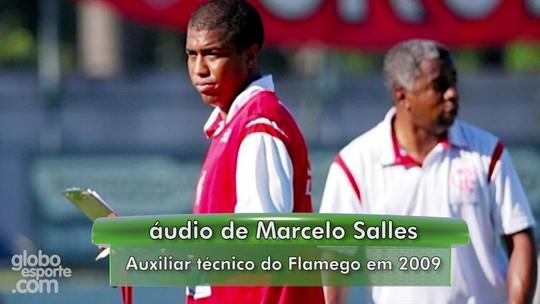 Uma vida no Fla: fala do Imperador ainda dá arrepios em Marcelo Salles