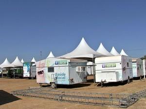 Projeto Multiação oferece mais de 30 serviços em Várzea Grande (MT) (Foto: Reprodução/TVCA)
