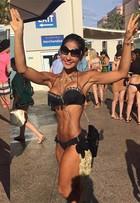 Mayra Cardi sobre críticas a seu corpo: 'Malho só uma vez por semana'