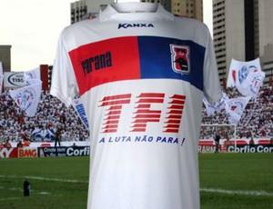 Paraná Clube patrocínio torcida organizada (Foto: Divulgação / Site oficial do Paraná Clube)