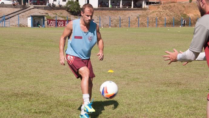 Cassiano Bodini Atlético-IB Atlético de Ibirama atacante (Foto: Orlando Pereira / CAHA)
